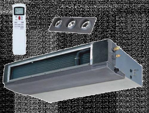 FISHER FSLIF-122AE3 / FSOIF-123AE3 Inverteres légcsatornázható split klíma